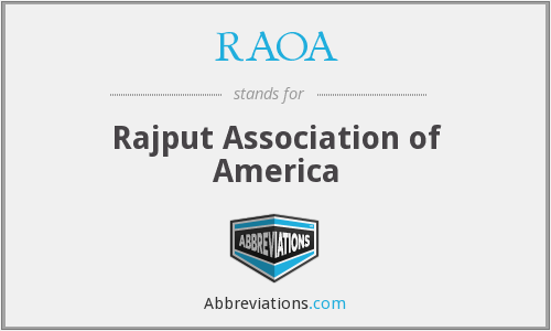 What does RAOA stand for?
