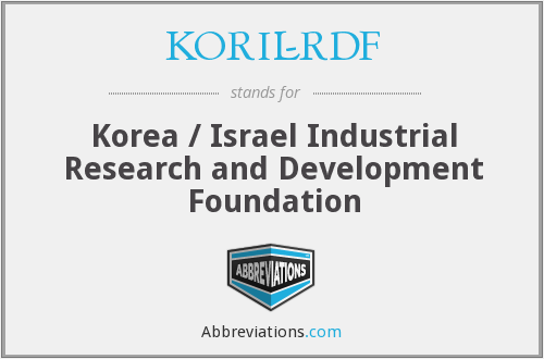 What does KORIL-RDF stand for?