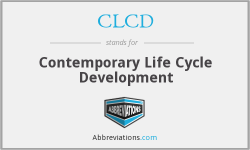 CLCD - Contemporary Life Cycle Development