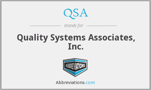 QSA - Quality Systems Associates, Inc.