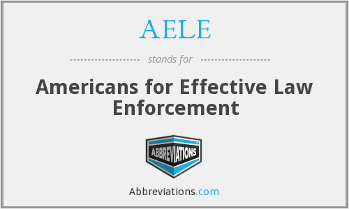 What does AELE stand for?