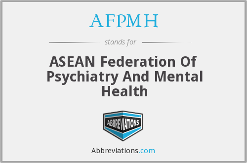 What does AFPMH stand for?
