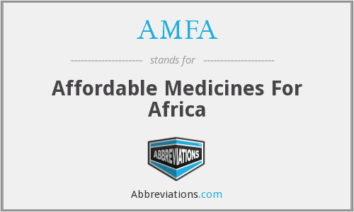 What does AMFA stand for?