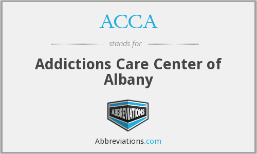 ACCA - Addictions Care Center of Albany