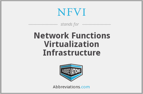 What does NFVI stand for?