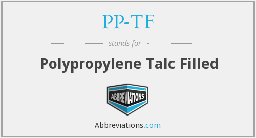 What does PP-TF stand for?
