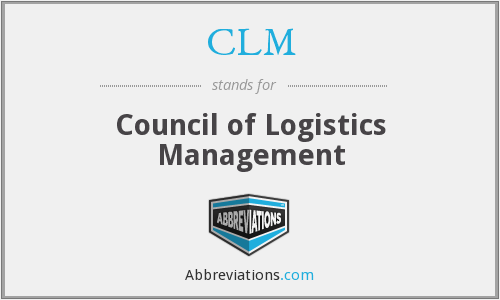 CLM - Council of Logistics Management