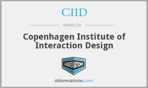 What does CIID stand for?