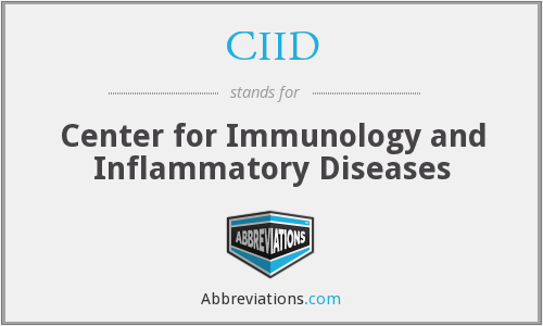 CIID - Center for Immunology and Inflammatory Diseases