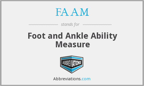 What does FAAM stand for?