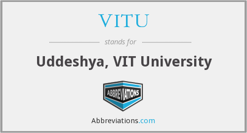 What does VITU stand for?