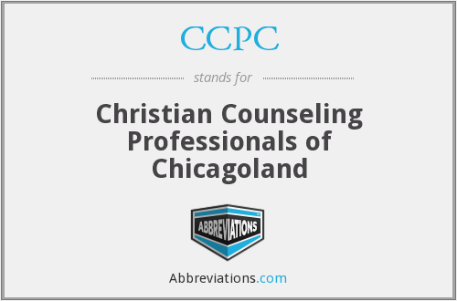 CCPC - Christian Counseling Professionals of Chicagoland