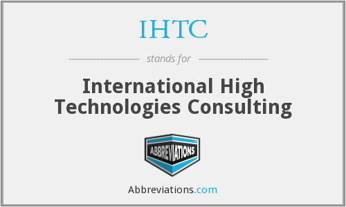 What does IHTC stand for?