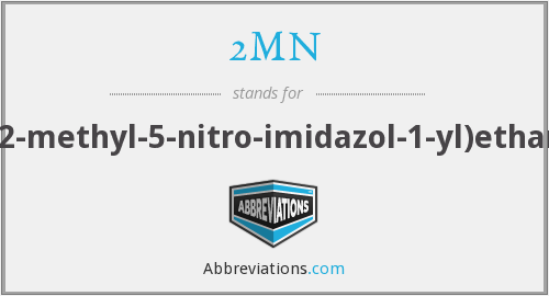2MN - 2-(2-methyl-5-nitro-imidazol-1-yl)ethanol