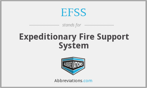 EFSS - Expeditionary Fire Support System