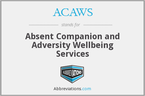 What does ACAWS stand for?