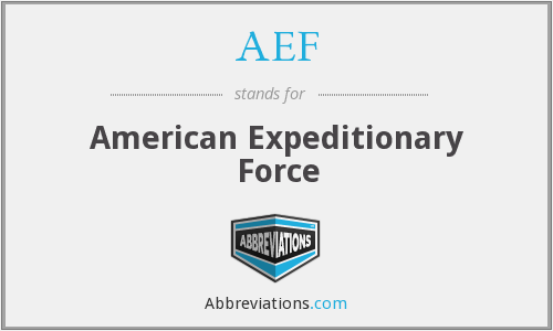 What does AEF stand for?