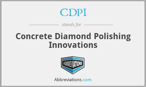 CDPI - Concrete Diamond Polishing Innovations