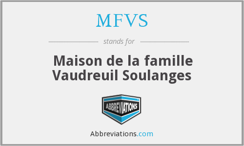 What does MFVS stand for?