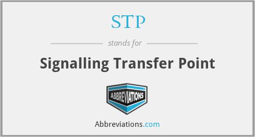 STP - Signalling Transfer Point