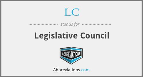 LC - Legislative Council