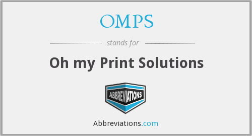 What does OMPS stand for?