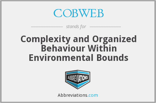 What does COBWEB stand for?
