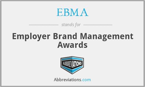 EBMA - Employer Brand Management Awards