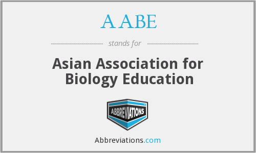 AABE - Asian Association for Biology Education