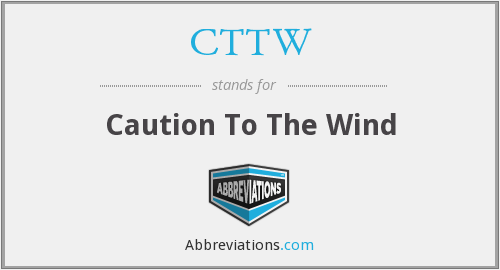 What does CTTW stand for?