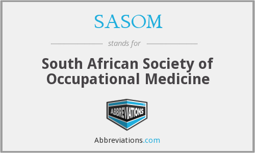 What does SASOM stand for?