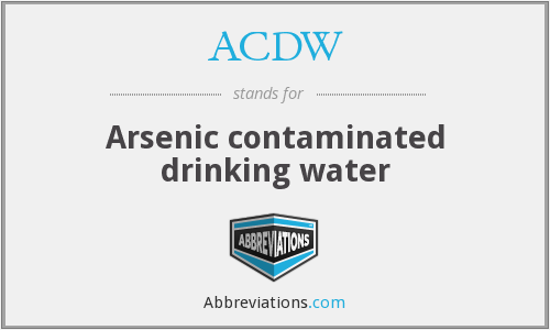 What does ACDW stand for?