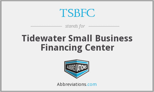 TSBFC - Tidewater Small Business Financing Center