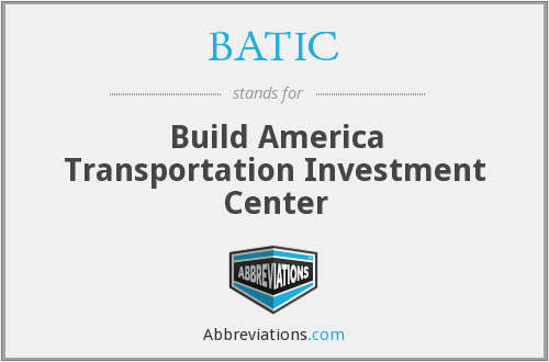 What does BATIC stand for?