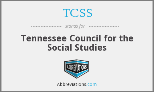 TCSS - Tennessee Council for the Social Studies