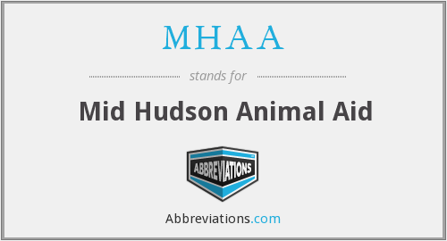 MHAA - Mid Hudson Animal Aid