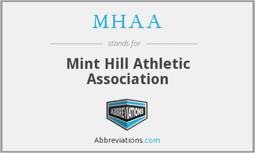 MHAA - Mint Hill Athletic Association