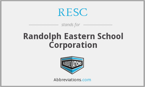 RESC - Randolph Eastern School Corporation