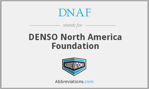 What does DNAF stand for?
