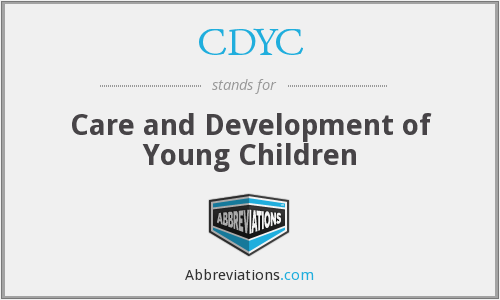 What does CDYC stand for?