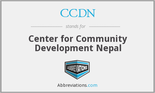 What does CCDN stand for?