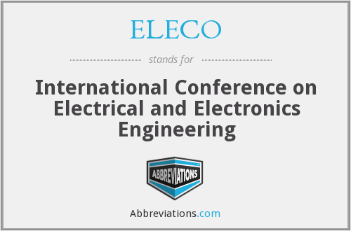 What does ELECO stand for?