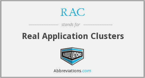 RAC - Real Application Clusters