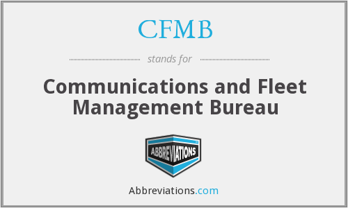 What does CFMB stand for?