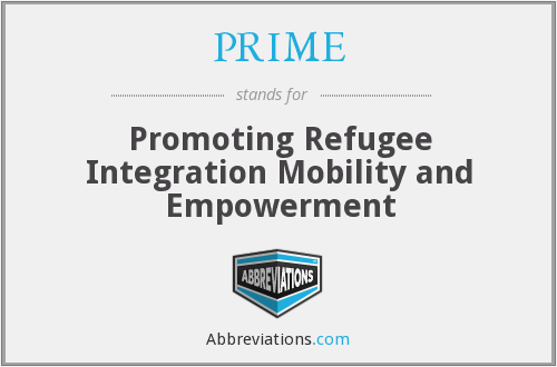 PRIME - Promoting Refugee Integration Mobility and Empowerment