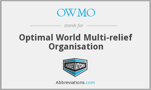 What does OWMO stand for?
