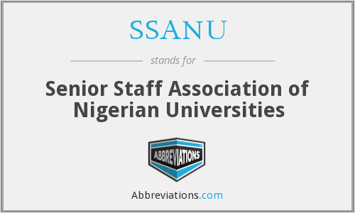 What does SSANU stand for?