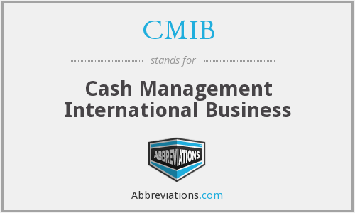 What does CMIB stand for?