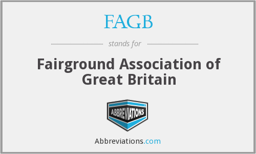 FAGB - Fairground Association of Great Britain