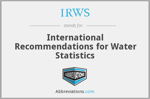 What does IRWS stand for?